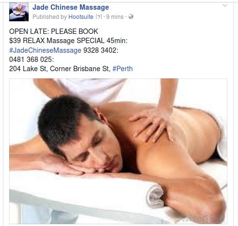 perth male to male massage