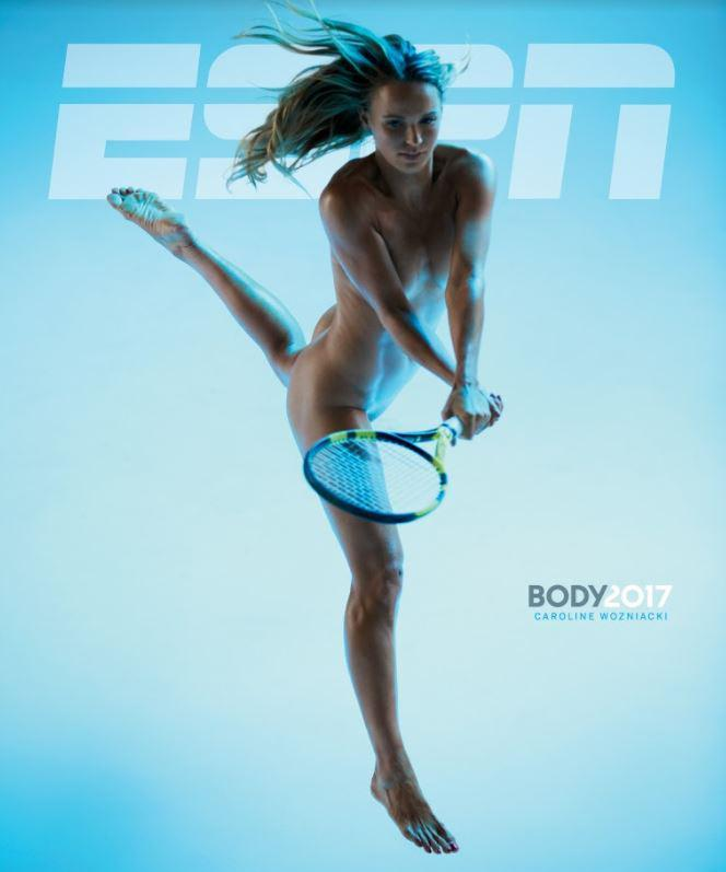 Tennis star recently stripped off for ESPN the Magazine Body