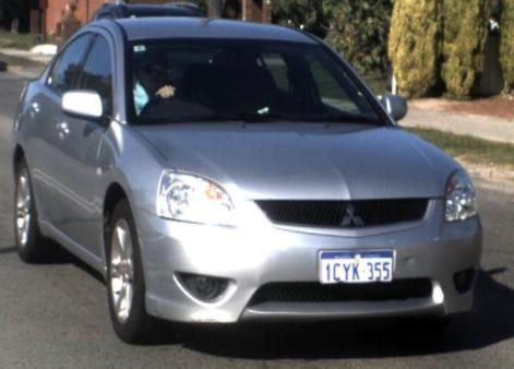 The car Anthony John Valentino is believed to be driving.